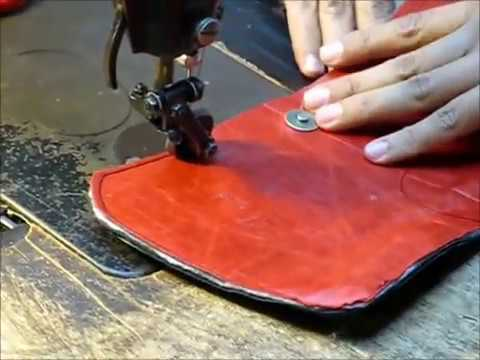 Sewing Leather Bag Piping - Jo Ann Page Studio