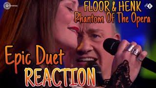FLOOR SHOCKS US ALL AGAIN! Floor Jansen & Henk Poort - Phantom Of The Opera - REACTION (REUPLOAD)