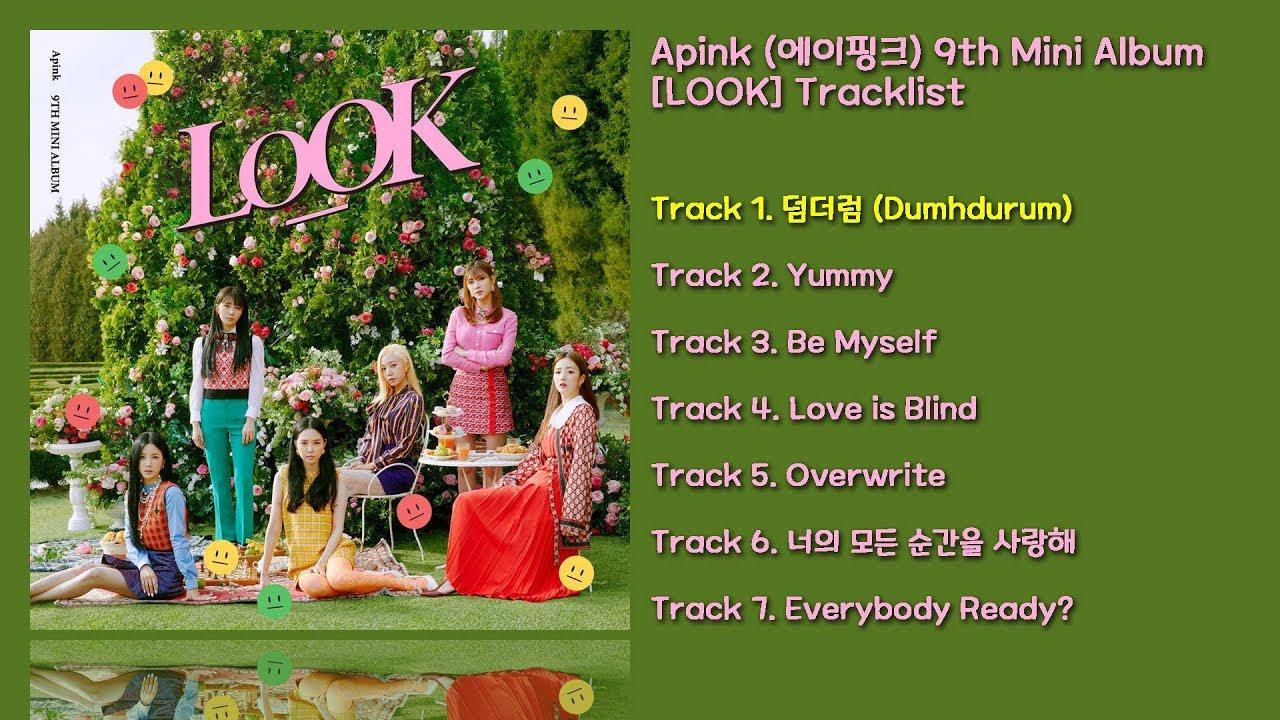 [전곡 듣기/Full Album] Apink(에이핑크) 9th Mini Album [LOOK]