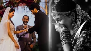 Samantha gets emotional | samantha naga chaitanya christian wedding video | tk475