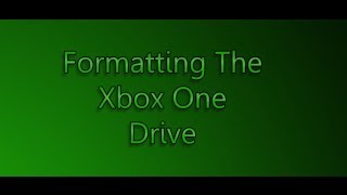 Install a Larger/Faster Xbox One Drive