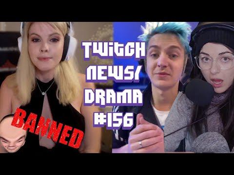 Kaceytron Banned,  M0xyy Emotes Removed, Ninja On Badbunny And McconnellRet- Twitch Drama/News #156