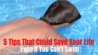 tips to Help You Survive in The Water