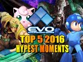 EVOLUTION 2016 - TOP 5 HYPE MOMENTS (Fighting Game World Championship)