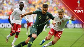 Australia Earns A Crucial Draw With Denmark To Keep Hopes Of Advancing Alive