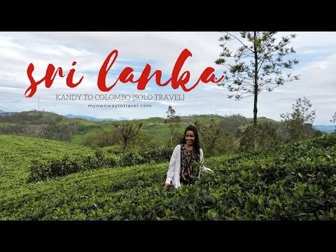 Solo Travel in Sri Lanka (Kandy To Colombo)