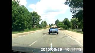 hrusha(Хрюша спасалась бегством от неминуемой смерти)))) г. Любар Житомирской области., 2015-07-07T08:52:13.000Z)