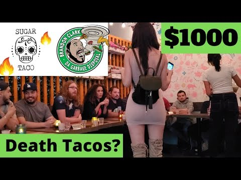 $1000 Ghost And Death Sugar Taco Contest   Beverly Hills