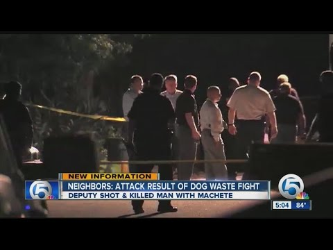 Neighbors: Attack result of dog waste fight