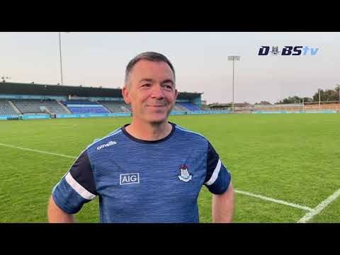 Dublin U20s hurling manager Seán Power speaks to DubsTV after win over Offaly
