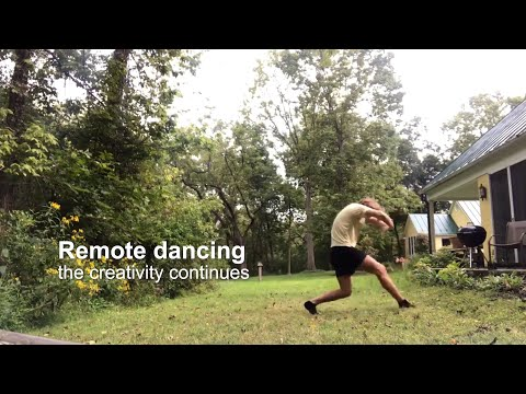 Remote dancing: The creativity continues