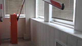 видео Антивандальный шлагбаум откатной Стандарт 4 метра