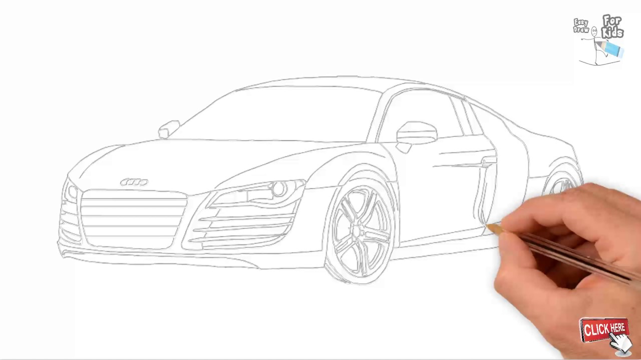 Outline Car Draw EASY And SIMPLE For Kids Draw Easy For Kids