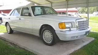1990 Mercedes-Benz 420SEL Start Up, Engine, and In Depth Tour
