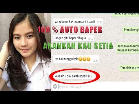 Prank Text BAPER pake lagu Dcotz Band Akankah Kau Setia