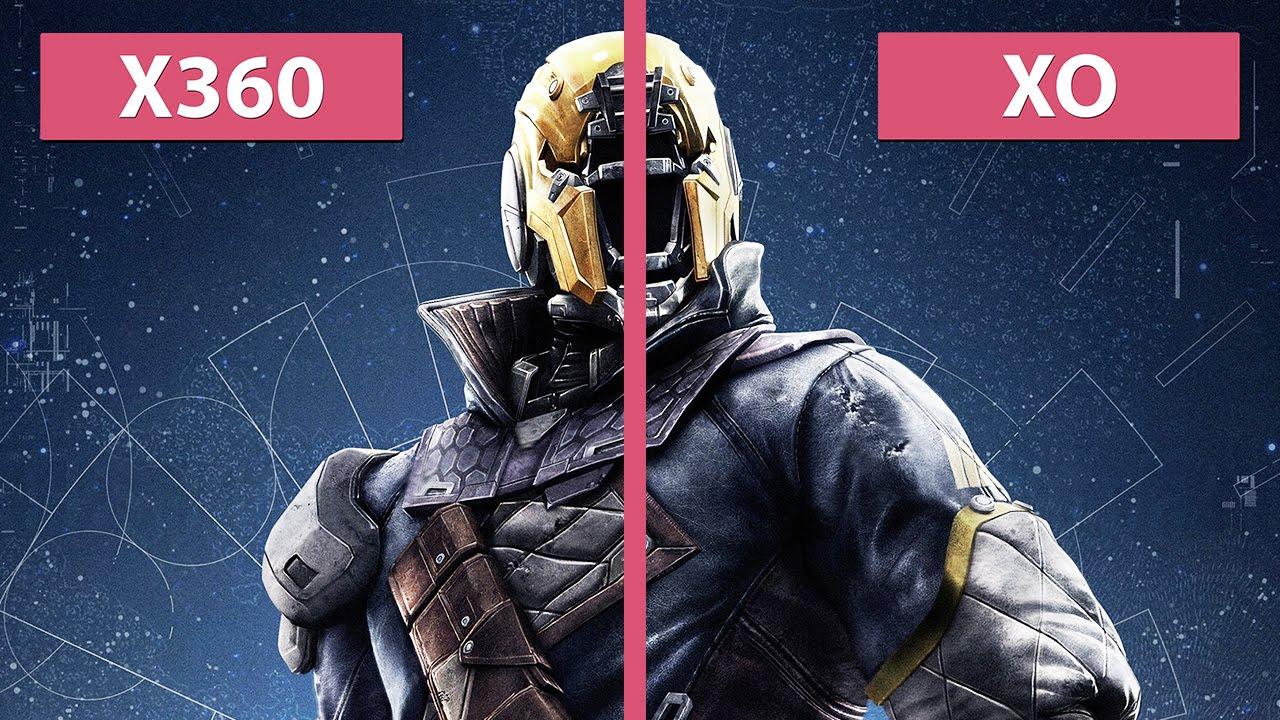 Destiny – Xbox 360 vs. Xbox One Graphics Comparison ...
