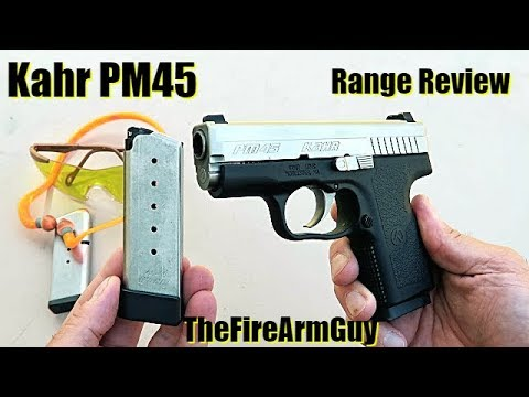 Kahr PM45 - Range Review - TheFireArmGuy