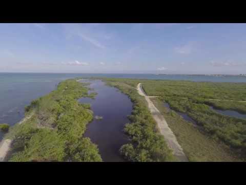 Barkers grand cayman drone flight