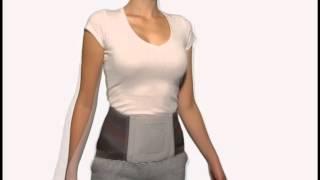 3D видео обзор поясничного бандажа Lumbo Sensa Women