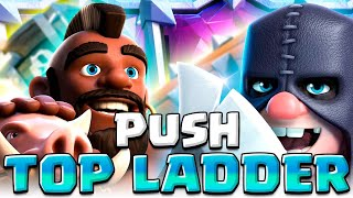 HOG EXENADO IN TOP LADDER - Clash Royale