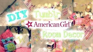 Diy Tumblr Inspired Room Decor For American Girl Dolls!