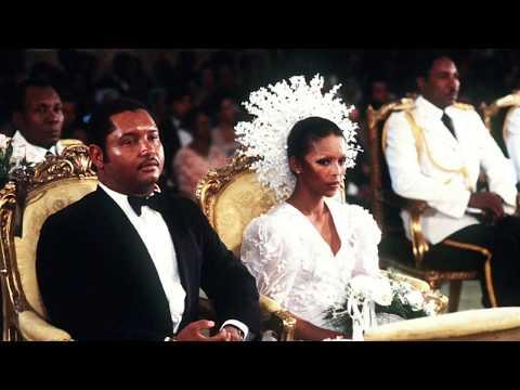 Mariage de Jean Claude Duvalier et Michele Bennett le 27 mai 1980.