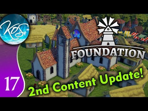 Foundation Ep 17: BITS AT A TIME - First Look - Alpha, Let's Play, Gameplay