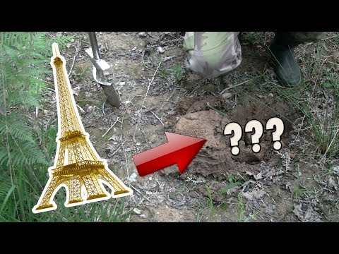 WE FOUND THE EIFFEL TOWER - On a trouvé la Tour Eiffel