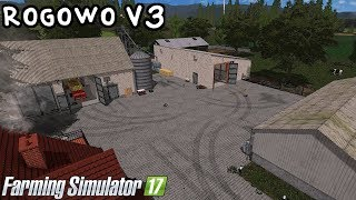 ️Prezentacja mapy - Rogowo V3 #62 Farming Simulator 17   NetNar