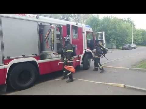 Пожар в Зеленограде