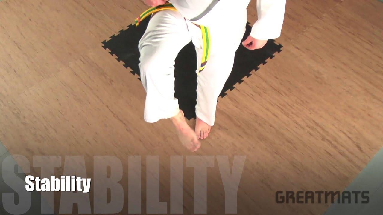 Multi Purpose Jigsaw Mats 1x1m Martial Arts Training Karate Kickboxing Taekwondo