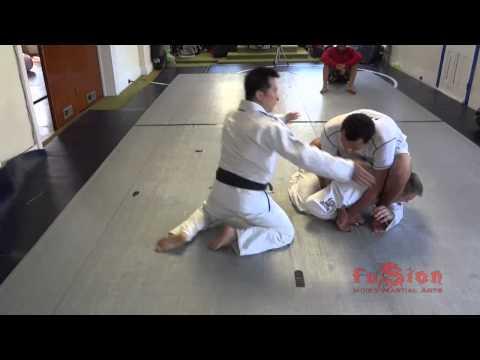 Kimura lock/Gyaku ude-garami/Double Wrist Lock into judo throw (Sumi Gaeshi  - 隅返) and submission