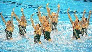 Синхронное плавание | Россия | ЧМ 2011, Шанхай