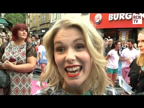 Hannah Arterton  Walking On Sunshine Premiere