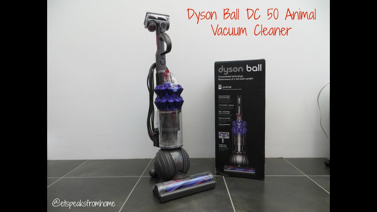 Nice Dyson Ball DC 50 Animal Vacuum Cleaner Review
