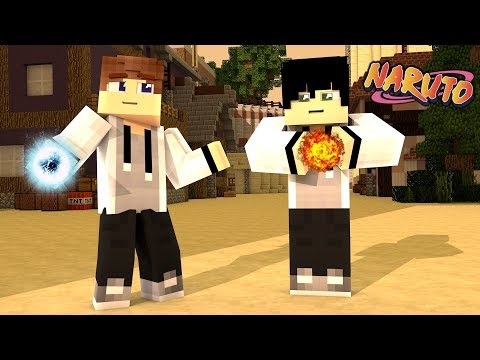 Minecraft: Naruto   GENIN EXAMS! EP 2 (Minecraft Naruto Roleplay RPG)