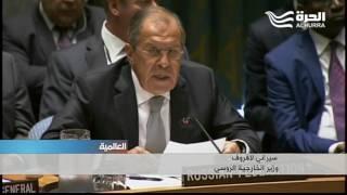 اتهامات متبادلة بين كيري ولافروف حول خرق اتفاق وقف إطلاق النار في سورية