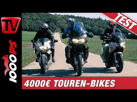 Vergleichstest Sporttourer unter 4000€ - The Small Tour Episode 1