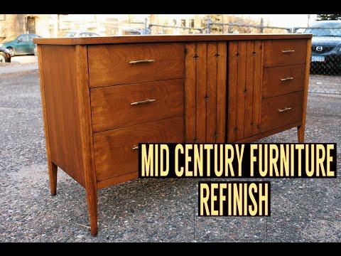 Mid Century Dresser Refinish