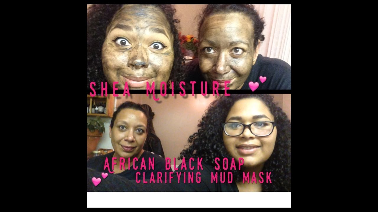 African Black Soap Clarifying Mud Mask by SheaMoisture #17