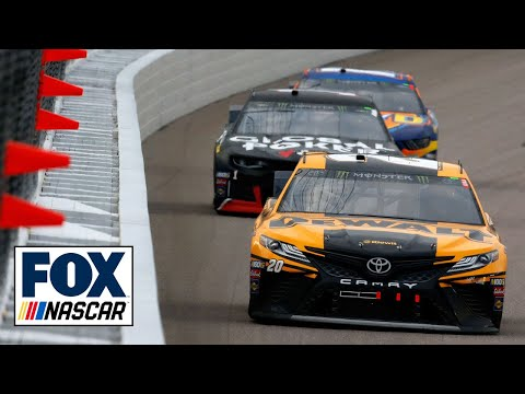 "Radioactive: Kansas Speedway - ""No. 20 car blocking like a son of a (expletive)"" | NASCAR RACE HUB"