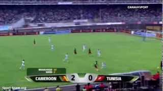 Barrages Mondial 2014 Cameroun Tunisie 4-1 2e MT