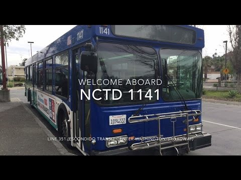 (RETIRED) NCTD BREEZE 2000 New Flyer D40LF #1141 | Coin Lloyd's Transit Hub