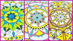 🎨Как нарисовать мандалу (для начинающих)