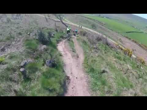 Mountainbiking In The North Yorkshire Sun (Technique Practice)