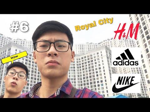 Hải Linh Khám Phá Các Hãng Nổi Tiếng Adidas, H&M và Nike tại Royal City (Vlogs 6)