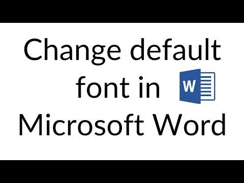 Word 2019 default font Download Full (Latest 2019)