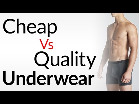 Inexpensive Vs Quality Underwear | A Man's Guide To Underwear | 5 ...
