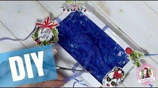 Мастер-класс новогодняя коробочка  для конфет скрапбукинг | DIY 🎄