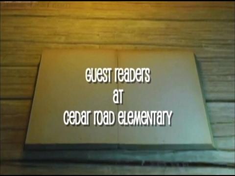 Cedar Road Elementary School - Guest Reader Day